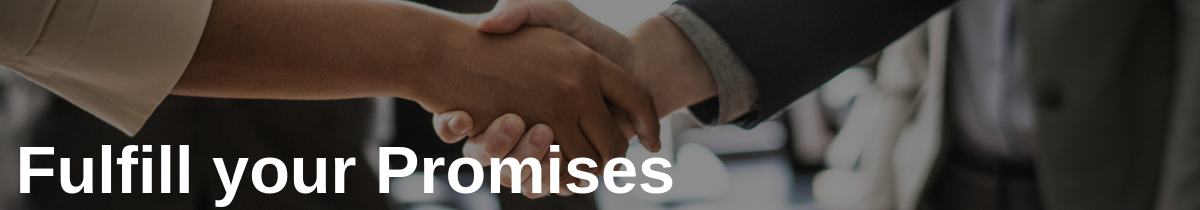 Fulfill your Promises with White Glove Service