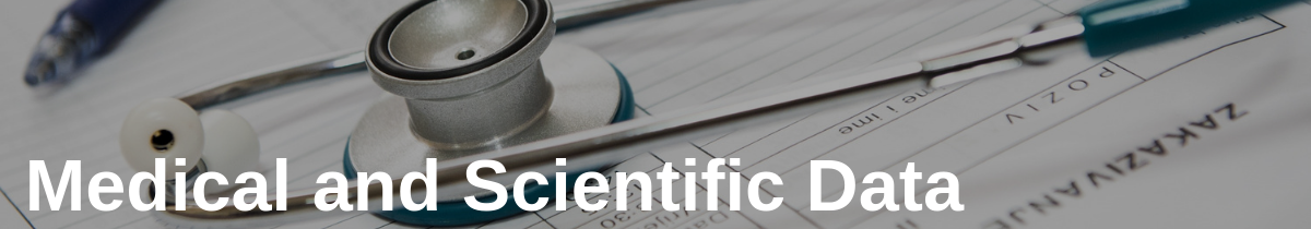Medical and Scientific Data in Track and Trace Documents for Peace of Mind