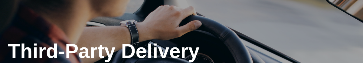 Third-Party Delivery in Package Tracking in the Food Industry