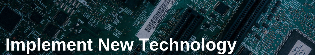 Implement New Technology in Track a Package