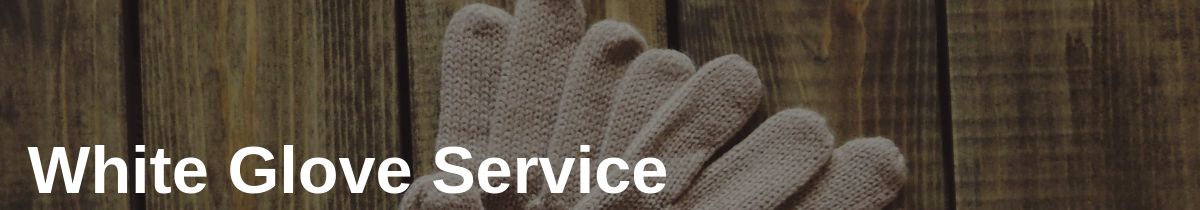 White Glove Service in Delivering Cheer with Overnite Delivery Service