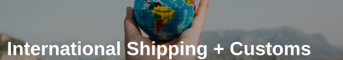 International Shipping + Customs in The Value of World Mail Tracking