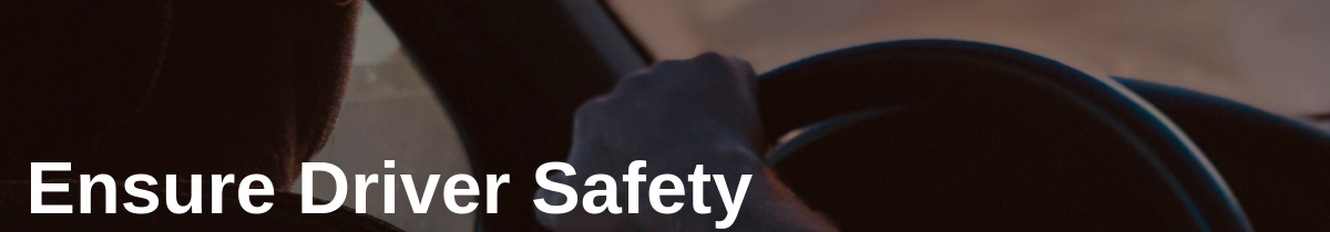 Ensure Driver Safety in Benefits of Route Optimization
