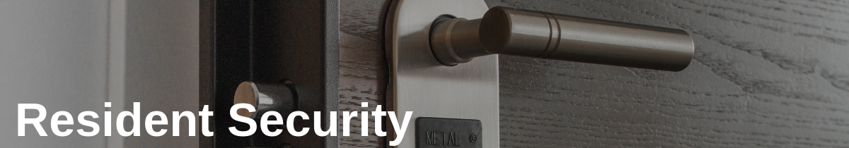 Resident Security in Track Packages for Secure Deliveries