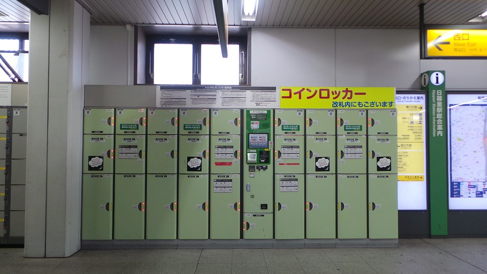 Lockers proof of delivery