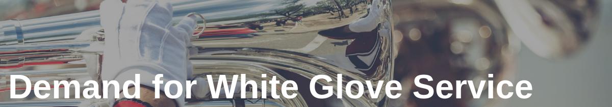Demand for White Glove Service in White Glove Services & Shipment Tracking