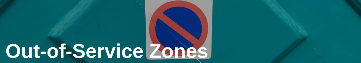 Out-of-Service Zones in Top 5 Chain of Custody Blind Spots