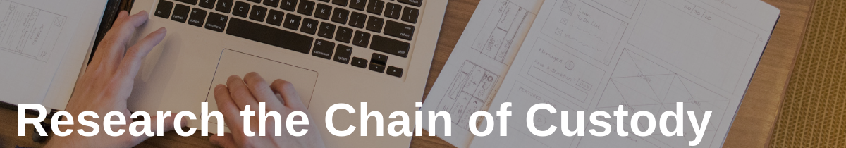 Research the Chain of Custody in Chain of Custody Protects Food