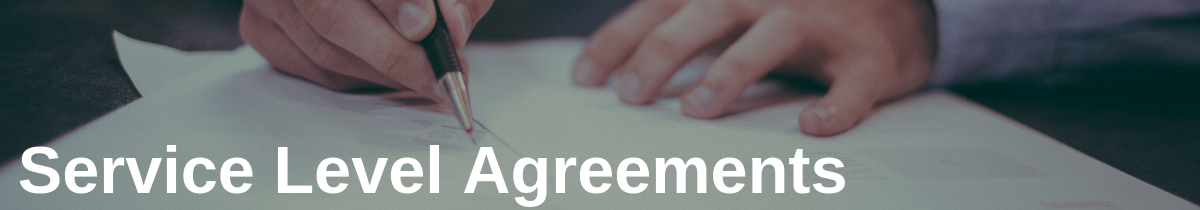 Service Level Agreements in Software For Deeper Manufacturer Relationships