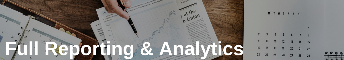 Full Reporting & Analytics in Delivery Software